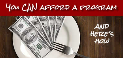 Eating out will cost you money - start saving!