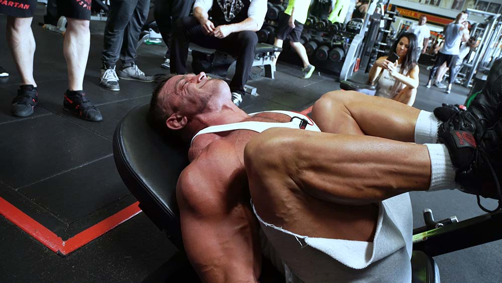 Leg Press with Mike O'Hearn