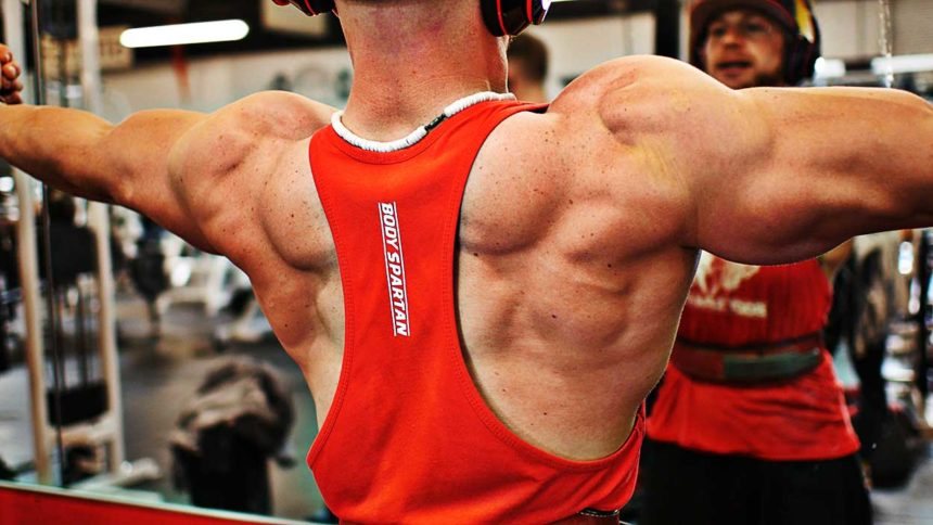 Build big shoulders